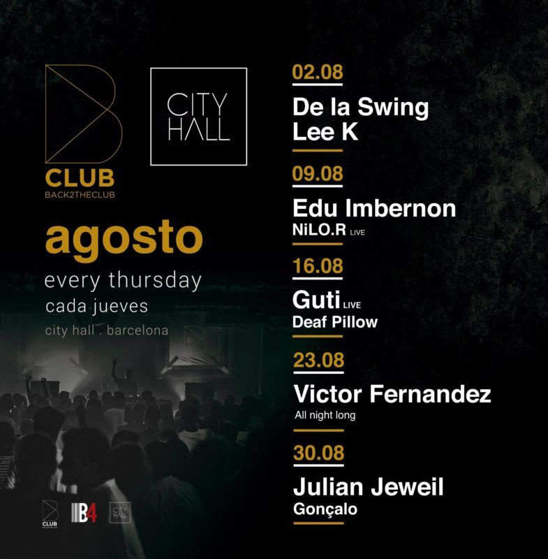 b club agosto