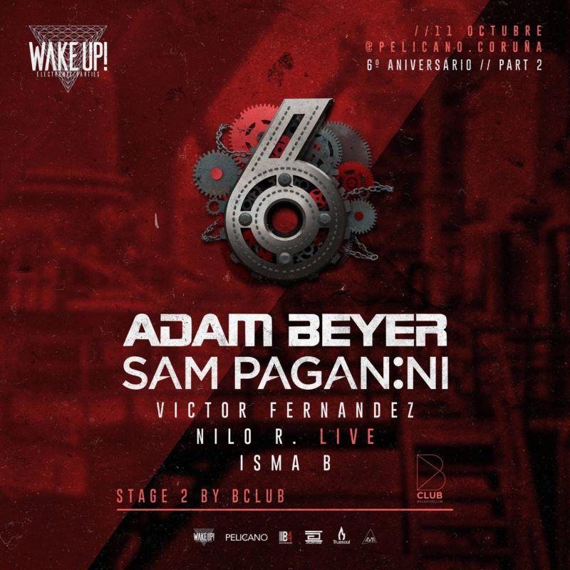 wake up adam beyer