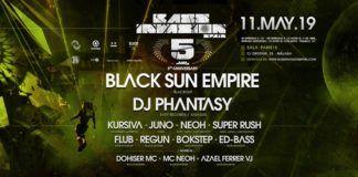 bass invasion 5 aniversario