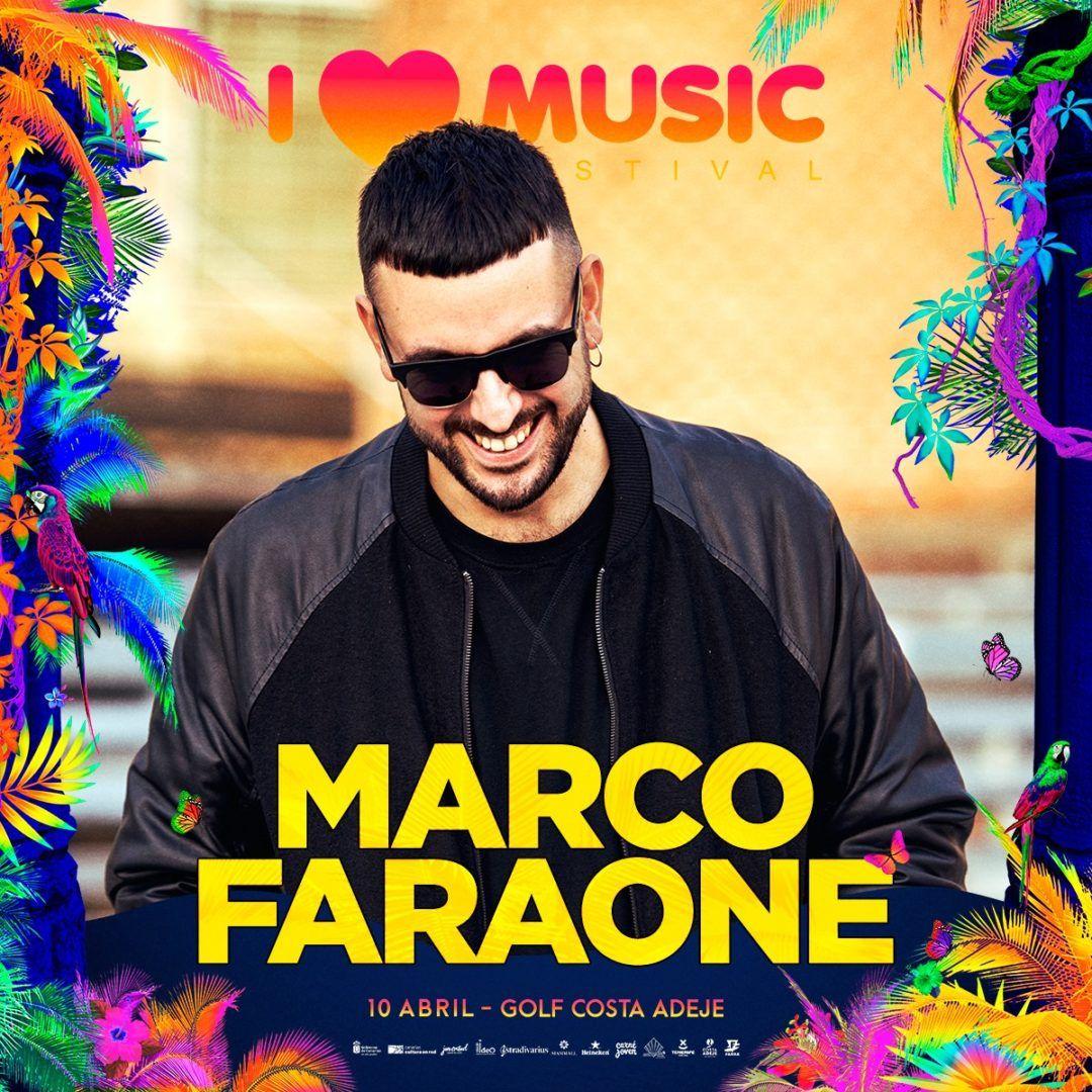 marco faraone i love music festival tenerife 2020