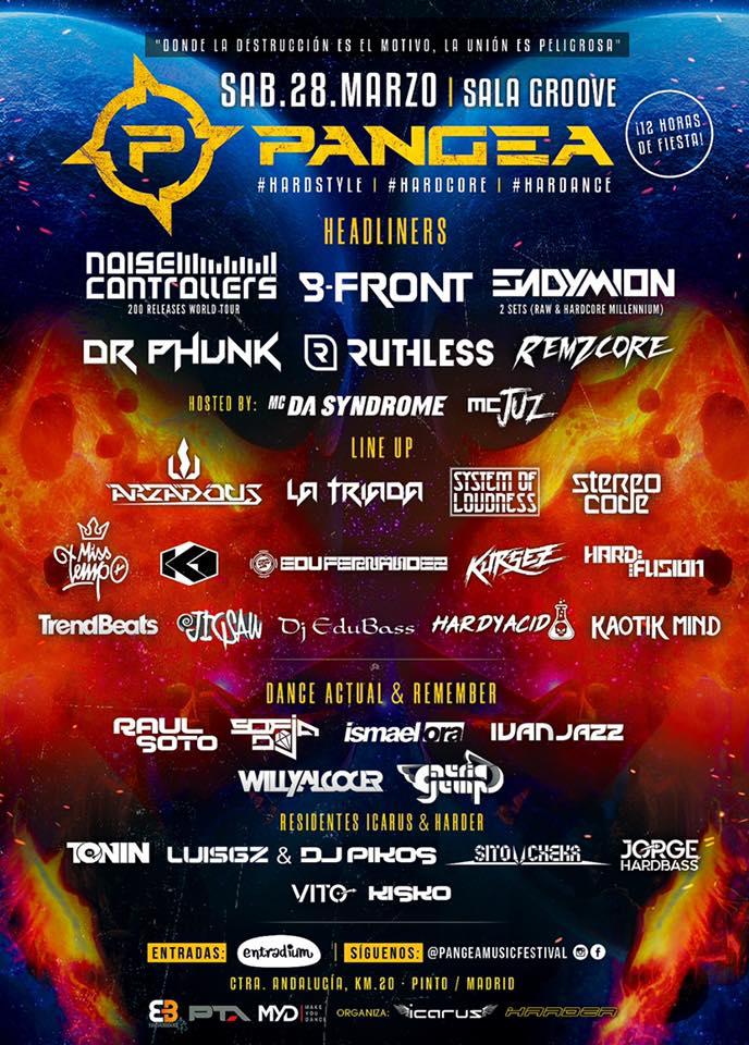 Pangea Music Festival 2020