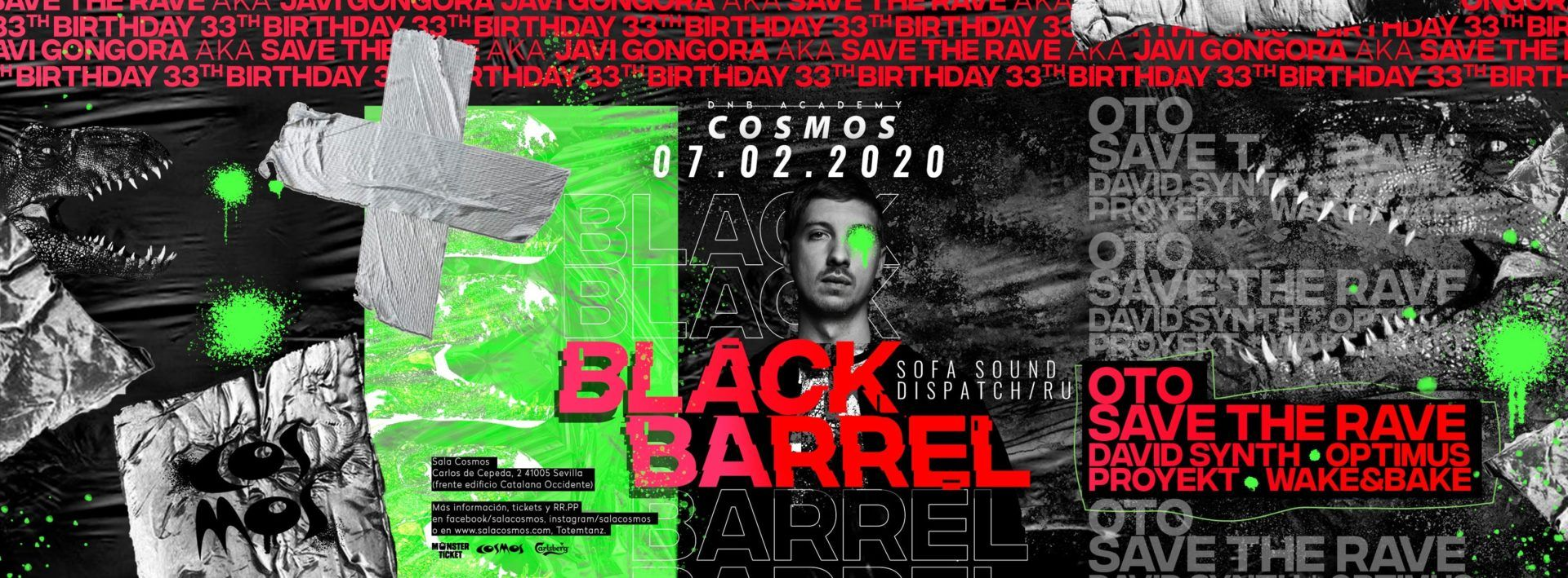 BLACK BARREL COSMOS
