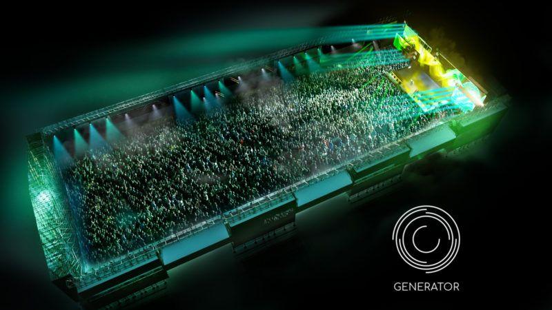 Creamfields Generator