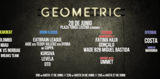 GEOMETRIC HOMIES 28 JUNIO