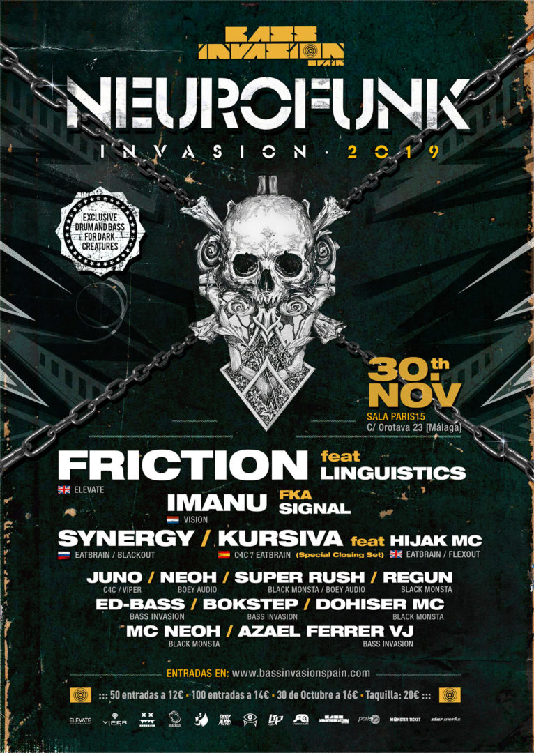 neurofunk invasion 2019