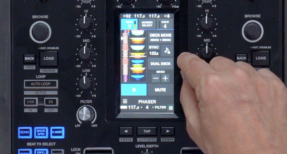 DJM-S11 pantalla tactil