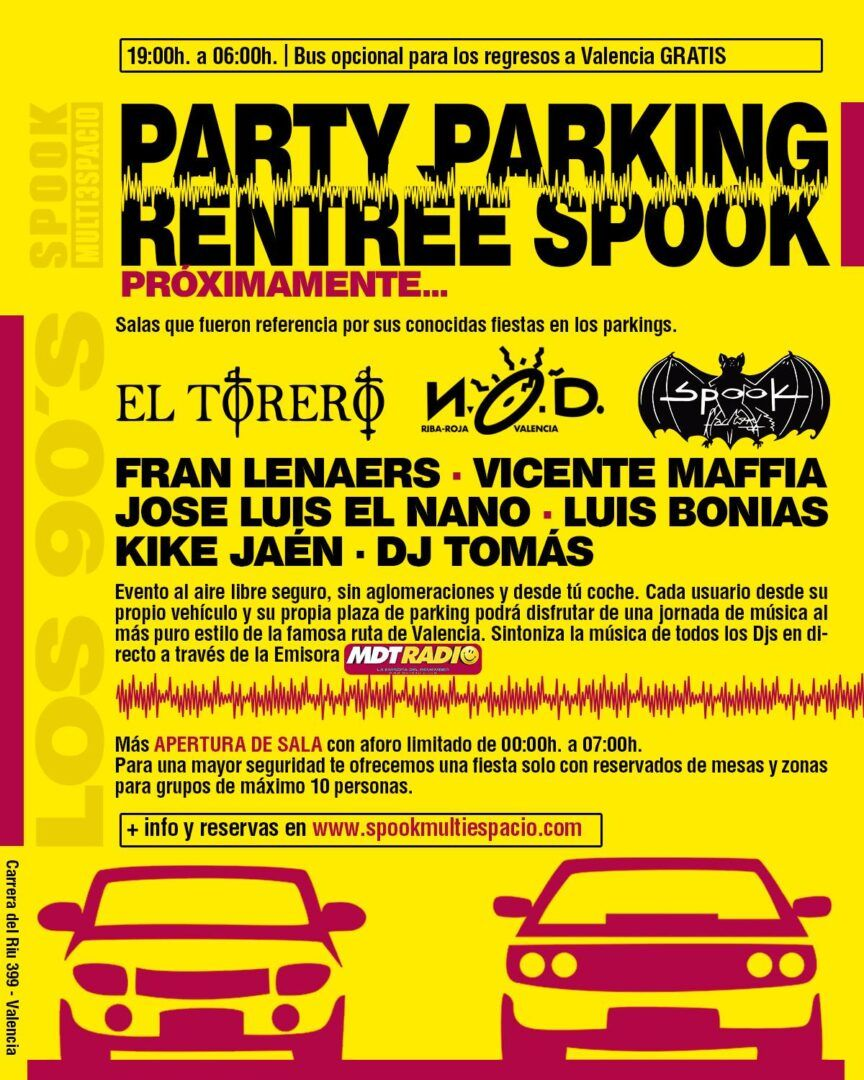 Spook Party Parking