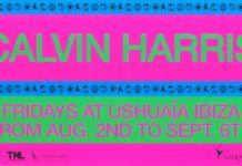 Calvin Harris Ibiza 2019
