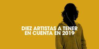 Diez artistas 2018