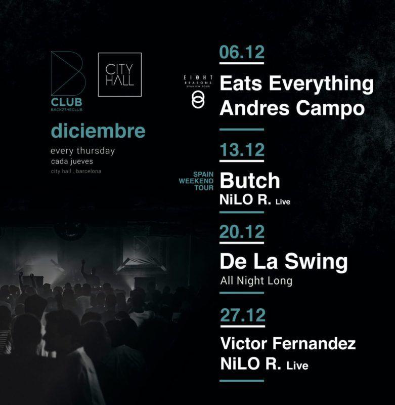 b club diciembre