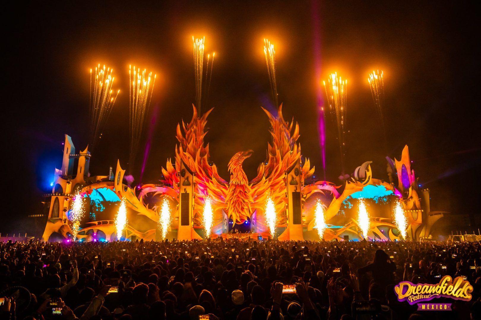 Festivales de música electrónica en México - Dreamfields Festival
