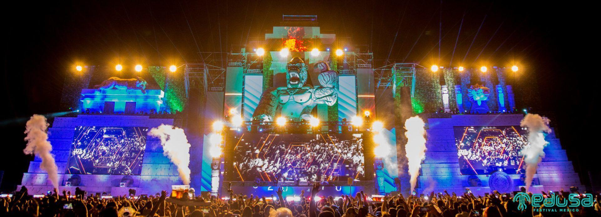 Festivales de música electrónica en México - Medusa Festival México