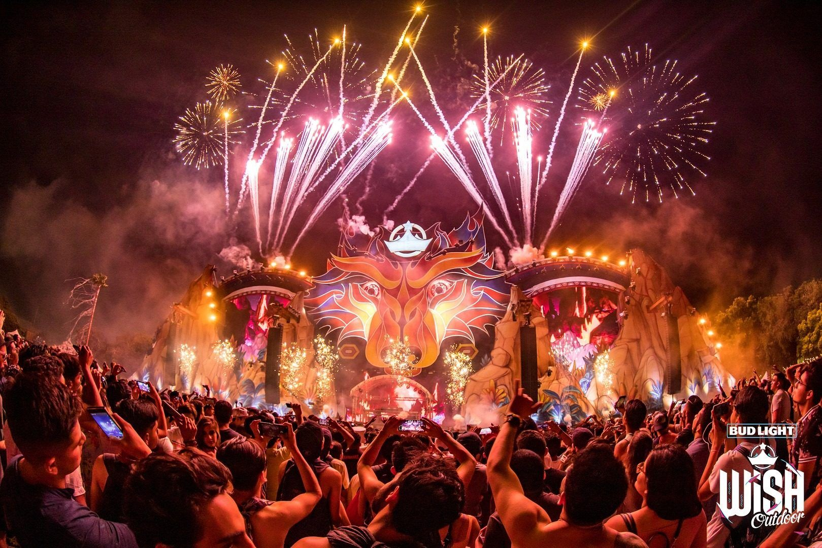 Festivales de música electrónica en México - Wish Outdoor