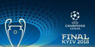 Cartel oficial de la final de la UEFA Champions League 2018 en KievCartel oficial de la final de la UEFA Champions League 2018 en Kiev