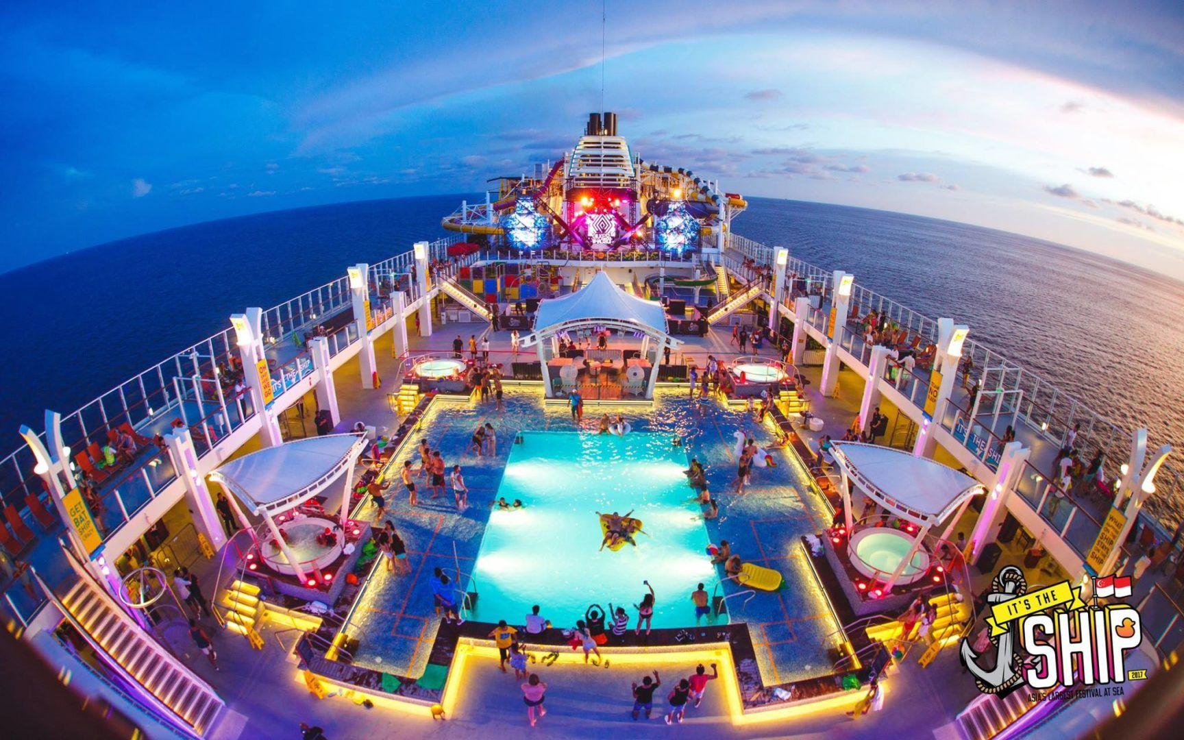 It's The Ship festivales caros