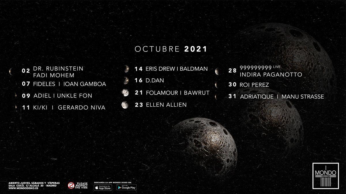 Mondo Disko octubre