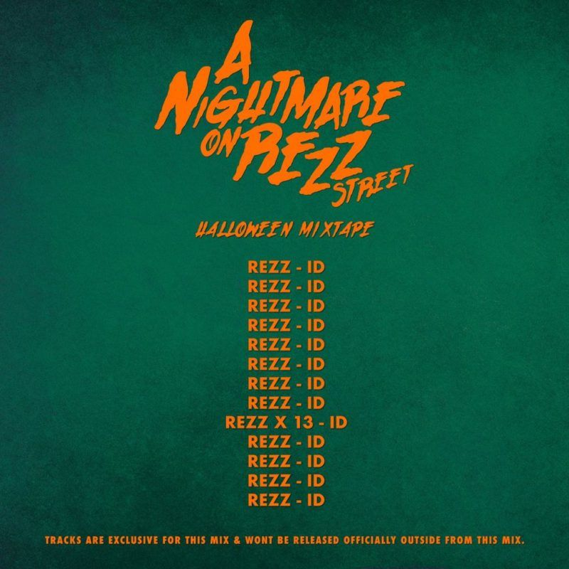 rezz halloween mix tracklist
