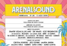 Arenal Sound cartel dias Wololo Sound 2018